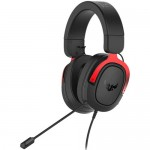 Asus TUF Gaming H3 7.1 - Wired Gaming Headset - 20Hz 20KHz - Red - New - 1 Year Warranty