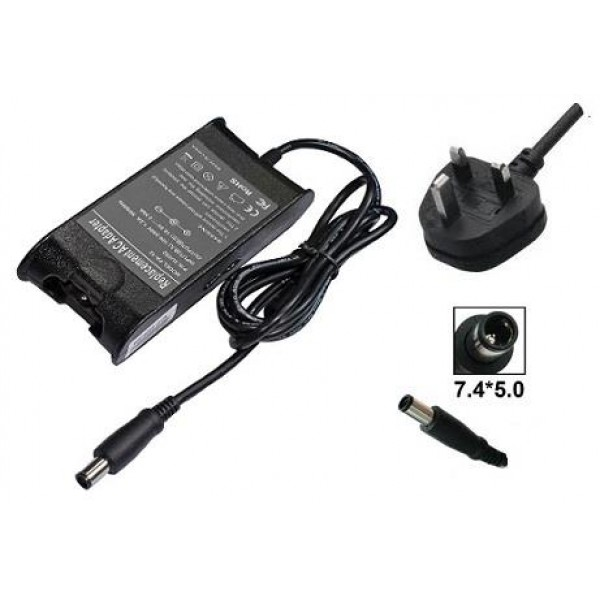 High Quality AC Adapter for Dell Inspiron N4110 N5110 N7110 Laptops 90W 19.5V 4.62A K8WXN PA10 PA3E PA12 Compatible | UK Power Cable | 6-Months Warranty