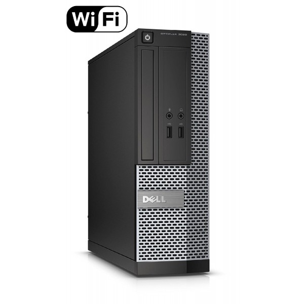 DELL Optiplex 3020 SFF PC | Intel Core i5-4570 @3.2GHZ | 8GB RAM | NEW 120GB SSD | DVD-RW | Windows 7 Pro COA - Refurbished Grade A - 1 Year Warranty