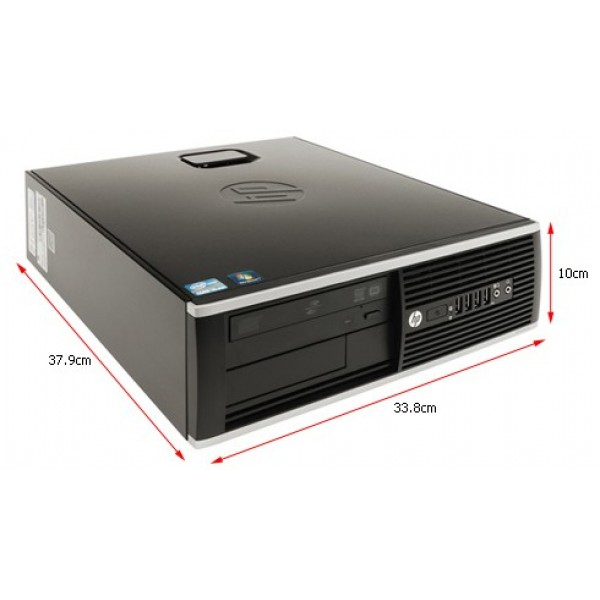 HP Compaq 8200 Elite Ultra-slim PC | Core I5-2400S | 4GB RAM | Windows 7 Pro | 1 Year Warranty