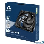 ARCTIC P12 Silent Case fan 120 mm 12.0V - ACFAN00130A