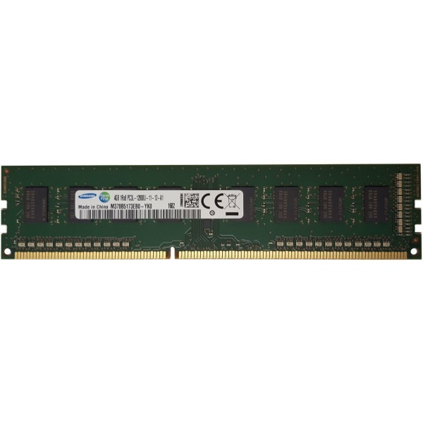Refurbished 4GB DDR3L (Low Voltage) Desktop Memory DIMM 240-pin 1600MHz PC3L-12800U Non-ECC - 1 Year Warranty - Mixed Brands
