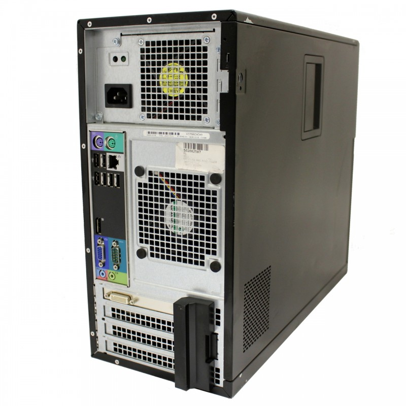Dell OptiPlex 990 Micro Tower | Intel Quad-Core i5-2400 @3 1GHZ | 4GB RAM |  120GB SSD | DVD-RW | Windows 7 Pro | Refurbished Grade A | 1 Year Warranty