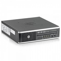 HP Compaq Elite 8200 USDT PC | Intel Quad-CORE i5-2400s @2.5GHz | 4GB DDR3 RAM | 320GB HDD | DVD±RW | Windows 7 Pro COA | Refurbishe Grade A | 1 Year warranty