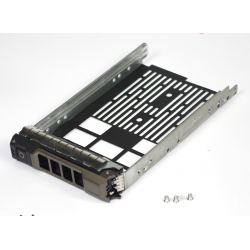 "3.5"" Drive Caddy Tray Sled for Dell R610 R710 T610 T710 Server SAS SASTu Hard Drive Replacement F238F Used"