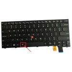 New Replacement Laptop Keyboard for Lenovo Thinkpad T460 T460S T460P T470 T470S T470P Series US Layout | Small Enter Key | Backlit | 00UR355, 00PA452, BL-84US, SN20H42364