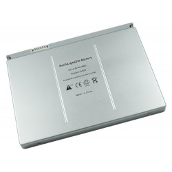 "Battery for Apple MacBook 17"" A1189 A1151 10.8V 6600mAh Silver 6 Cells 