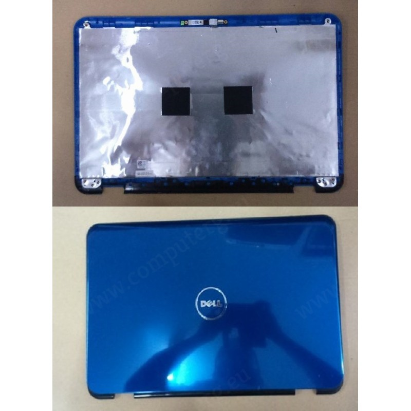 Original Used Blue Screen BAck Cover With Camera For Dell Inspiron N5010  CN-0DGV6W-3856