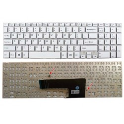 Replacement Keyboard for Sony Vaio SVF15 Series White US Layout - 6-Months Warranty