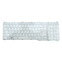 New Replacement Laptop keyboard For Toshiba Satallite C660, C660D, C665, L650, L650D, L670, L670D, L750, L750D, L770 Series, US Layout (White)