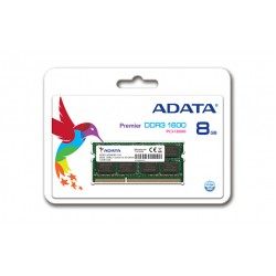 ADATA Premier 8GB DDR3 1600MHz Memory Module For Notebooks (AD3S1600W8G11-B)