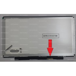 """Chi Mei Optoelectronics 13.3"""" Laptop Replacement screen with 40 Pin Connector N133BGE-L41 Rev.C1"""