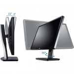 "Dell Professional P2412H 61cm 24"" LED Monitor, Refurbished, Grade A, 1 Year Warranty"