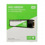 WD Green PC SSD 120GB M.2 solid-state drive | SATA 6Gb/s | 3-years Warranty | WDS120G2G0B