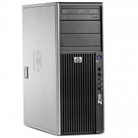 HP Z400 Workstation Tower - Intel Xeon W3520 @2.660GHz (4 Cores, 8 Threads) - 16GB DDR3 - 250GB HDD - DVD-RW - nVidia Quadro NVS300 512MB/64bit - Windows 7 Pro 64-bit COA