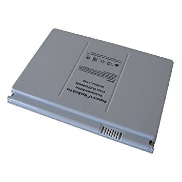 """Battery For Apple MacBook Pro-17"""" A1189 6600mAh"""