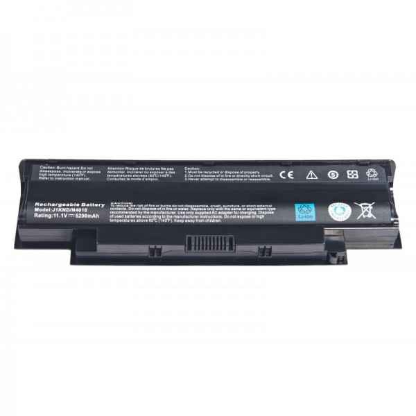 New High Quality Battery for Dell Inspiron 15R 17R N5010 N5110 N7010 N7110 4400mAh 6Cell J1KND | Assembled by ComputerG