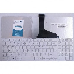 KEYBOARD FOR TOSHIBA  C850 L850 C870 C855 L870 P850 P855/TO85 US LAYOUT WHITE