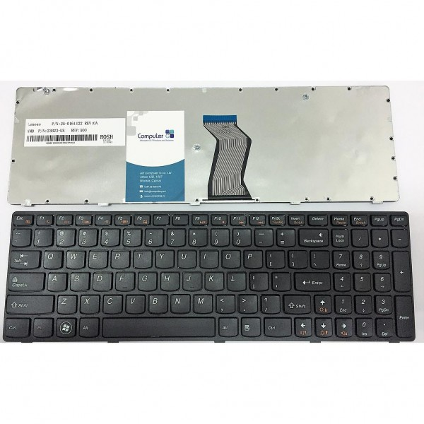 Keyboard For Lenovo IdeaPad G580 G585 Z580 Z585 N580 P580 P585 Series US Layout Black