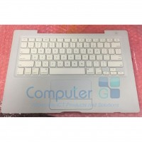 Laptop Top Case - Keyboard - Trackpad for MacBook 13-Inch Model A1181 Year 2007 2008 2009 - White - New - 1-Year Warranty