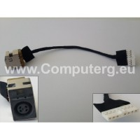 DC Jack For HP CompaQ CQ56 CQ62 HP G56 G62 DC In Cable 8-Pin