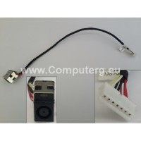 DC Jack for HP CompaQ CQ72 HP G72 Power Jack DC in Cable