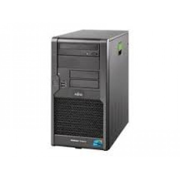 Fujitsu PRIMERGY TX100 S1 Tower, Intel Xeon X3220 2.4GHz Quad-Core, 4GB RAM, 2x 500GB HDD, Grade A-, 1 Year Warranty