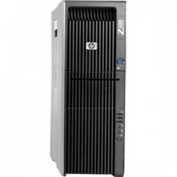 HP Z600 Workstation Tower | 2x CPUs Intel Xeon Six-Core X5650 @2.66GHz (6 Cores, 12 Threads each, 12M Cache) total 12 Core, 24 Threads | 16GB DDR3 RAM | 500GB HDD | DVD-RW | Nvidia Quadro fx1800 768mb/192bit | Win 7 Pro 64-Bit | Refurbished | 1 Year Warra