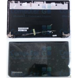 Back cover for Toshiba Satellite L50-A Black With Cables & Hinges H000056040