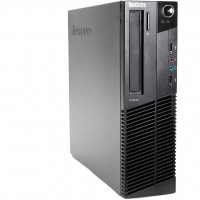 Lenovo ThinkCenter M92P SFF - Intel Core i5-3470 @3.2GHz Quad-Core - 8GB DDR3 RAM - 250GB HDD - DVD - Windows 7 Pro 64-Bit - Refurbished - Grade A -1 Year Warranty
