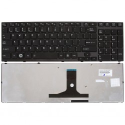 Laptop Keyboard for Toshiba A660 US Black Small Enter Key 09N53US6698
