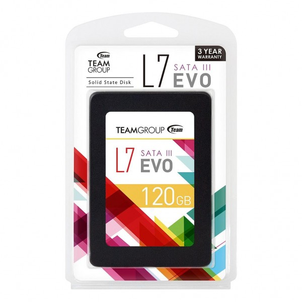 Team Group L7 EVO SSD 120GB T253L7120GTC101