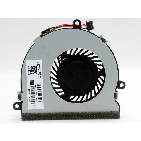 CPU Fan For HP 15-ac 15-af 15-ay 15-ba 250 G4 250 G5 255 G5 250 G6 255 G6 813946-001 925012-001 DC28000JLR0 ARX1 - 4-Pin