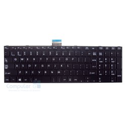New Replacement Laptop Keyboard for TOSHIBA Satellite C850 C855 C870 L850 L855 L870 With Prame, (Big Enter Key)