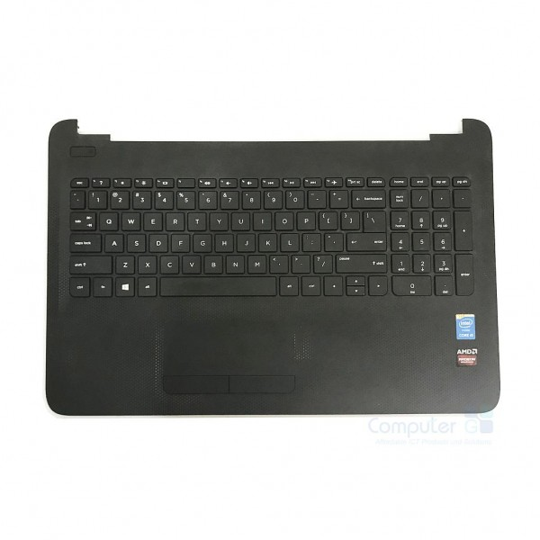 HP G4 250 G4 255 15-BA 15-AC 15-AF SERIES Palmrest Touchpad Keyboard Top Chassis Cover - AP1EM000A00