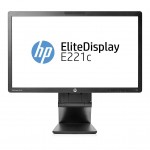 HP EliteDisplay E221c 21.5-inch Webcam & Microphone Full HD IPS LED Multimedia Monitor - Refurbished - 1 Year Warranty
