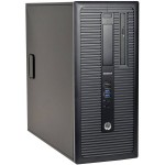 HP EliteDesk 800 G1 Tower | Intel Quad-Core i7-4770 3.40GHz | 4GB DDR3 RAM | 500GB HDD | Dual DispalyPort | Windows 10 Pro | Refurbished | 1 Year Warranty | Free New 240GB SSD + New Keyboard & Mouse