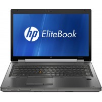HP ELITE BOOK 8760W | Intel Core i5-2520m | 8GB RAM | 256GB SSD | 17.3 LED Display | ATI FIREPRO M5950 1GB DDR5 128-bit | Windows 7 Pro | Refurbished | 1 Year Warrany