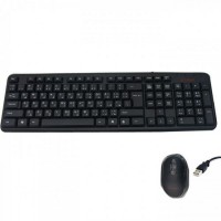 ETRAIN KEYBOARD & MOUSE SET USB WIRED BLACK ETRAIN