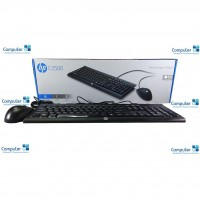 HP Desktop Keyboard and Mouse Wired C2500 Black