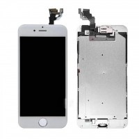 New LCD + Touch Screen Digitizer for iPhone 6 4.7 Inch Assembly with Home Button Button (White)