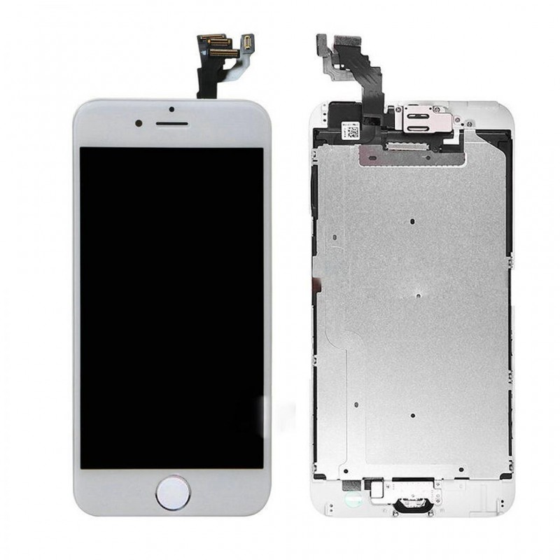 size 40 c7f6e b4630 New LCD + Touch Screen Digitizer for iPhone 6 4.7 Inch Assembly (White