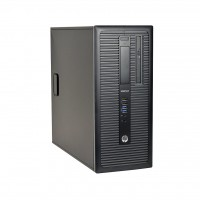 HP EliteDesk 800 G1 Tower | Intel Quad-Core i5-4570 3.2GHz | 4GB DDR3 RAM | 500GB HDD | Dual-DisplayPort | Windows 10 Pro | Refurbished | 1 Year Warranty