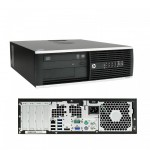 HP Elite 8300 SFF PC | Intel Core i5-3470 Quad-Core @3.20GHz | 250GB HDD | 4GB RAM | DVD-RW | Windows 7 Pro COA | Refurbished Grade A | 1 Year warranty