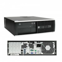 HP Elite 8300 SFF PC - Intel Core i5-3470 Quad-Core @3.20GHz - 250GB HDD - 4GB RAM - DVD-RW - Windows 7 Pro COA - Refurbished Grade A - 1 Year warranty