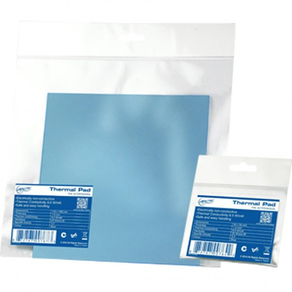 ARCTIC Thermal pad 50x50mm (1.0mm) High Performance Gap Filler - blue