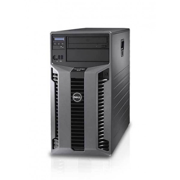 Dell Poweredge T610 Server Tower | 2x Intel Xeon Quad-Core E5645 @2.40GHz | 8GB RAM | NO HDD | USB 3.0 | DVD-RW | 2x PSU | Raid Perc6i 256MB | Refurbished Grade A | 1 Year Warranty