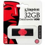 Kingston DataTraveler 106 USB 3.1 Gen 1 | 32GB USB flash drive | 5 Years Warranty - DT106 / 32GB