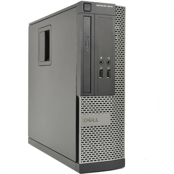 DELL Optiplex 3010 SFF PC | Intel Core i5-2400s @3.1GHZ | 4GB RAM | NEW 120GB SSD | DVD-RW | Windows 7 Pro COA | Refurbished Grade A | 1 Year Warranty