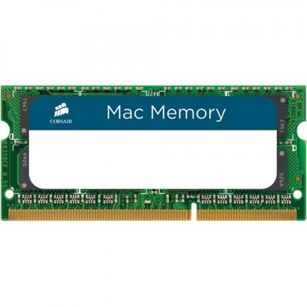 CORSAIR Mac Memory | DDR3 8GB | 1333 MHz | 1.5 V | SO DIMM | 204pin | CMSA8GX3M1A1333C9